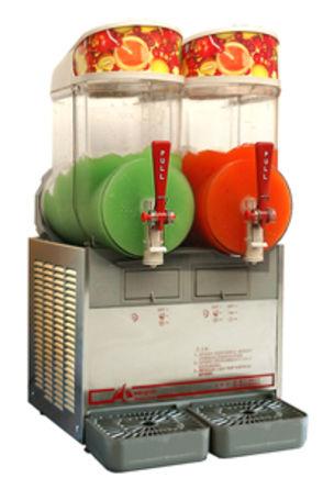 2 kammeret slush ice maskine, leje. Uden rengøring 1 / 3