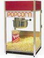 Leje: Popcornmaskine u. forbrugsstoffer.