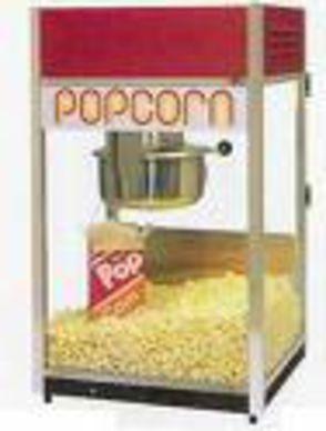Leje: Popcornmaskine u. forbrugsstoffer. 1 / 2