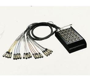 Multikabel, 16 send - 4 return. 30 m. 1 / 2