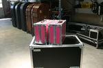 Duchcases, Pink CD-Kuffert. 3 rum.