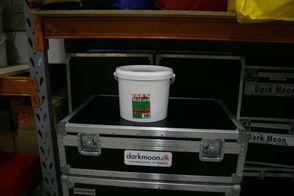 Popcornmix, spand. Til 125 liter popcorn. 1 / 2