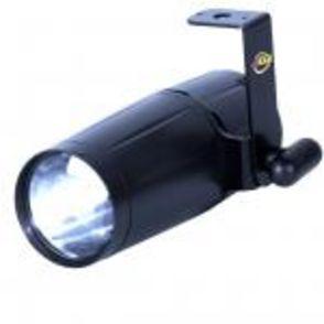 LED Pinspot m. 2. linser. 3 watt. 1 / 2