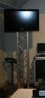 200 cm stativ for LCD skærm