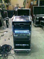 Yamaha mixer rack