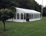 Komplet 9*18 m telt med gulv.